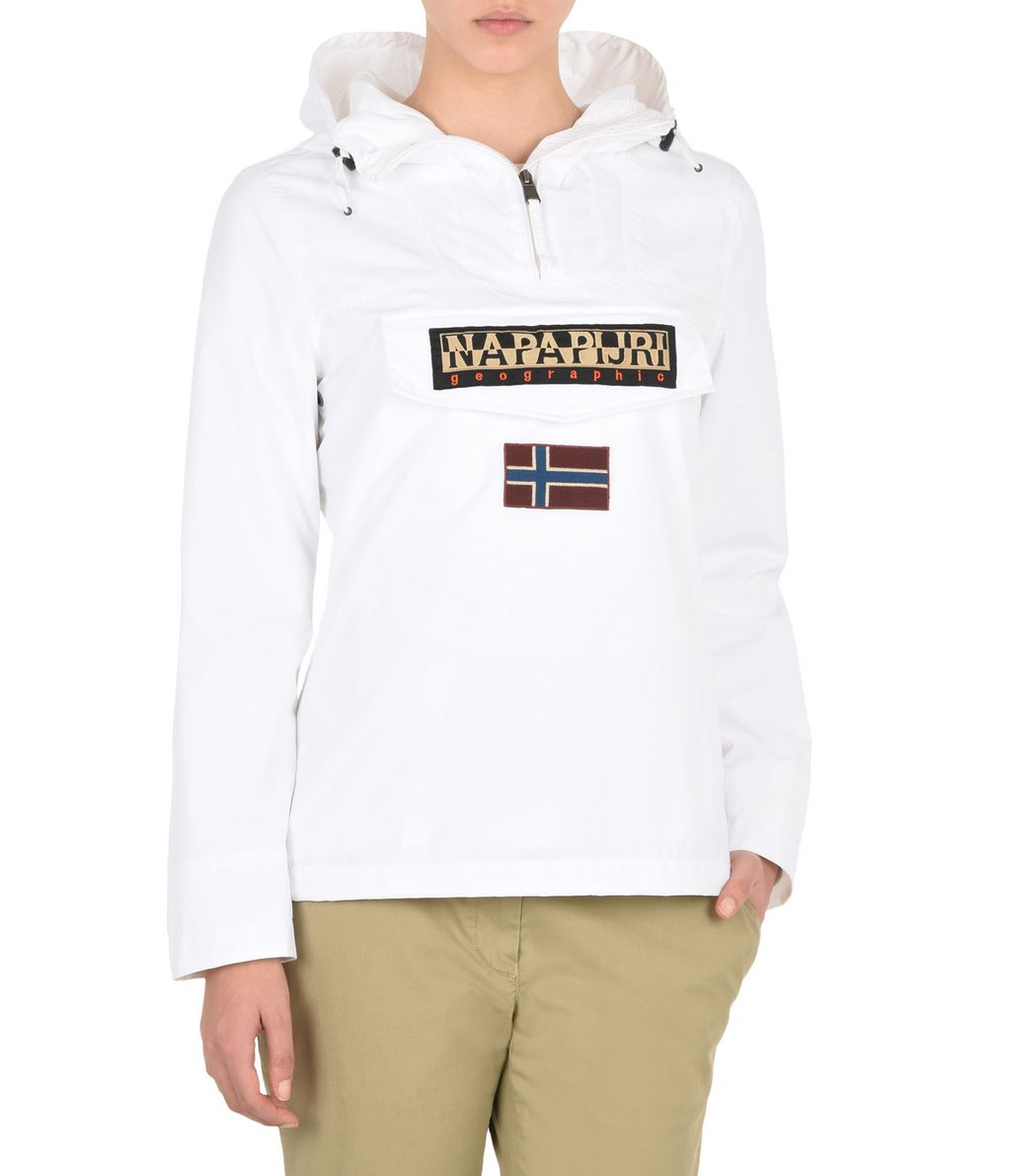 NAPAPIJRI RAINFOREST WOMAN SUMMER WOMAN RAINFOREST,BLANC BRILLANT