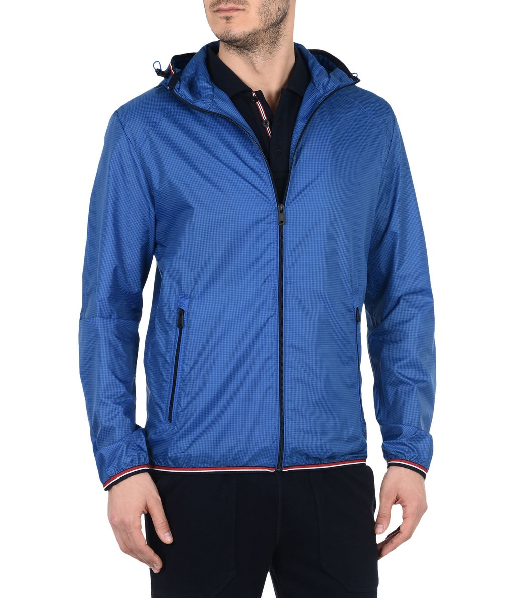 NAPAPIJRI AUGUSTA MAN SHORT JACKET,ROYAL