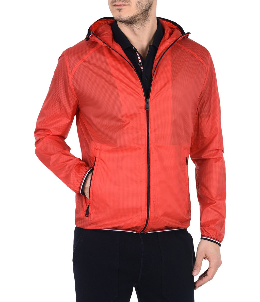 NAPAPIJRI AUGUSTA MAN SHORT JACKET,RED