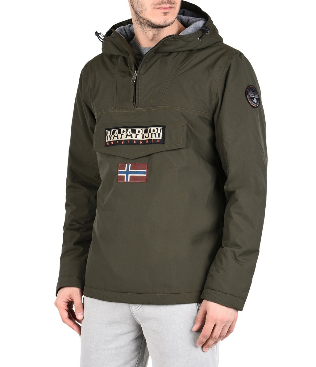 NAPAPIJRI RAINFOREST WINTER MAN RAINFOREST,MILITARY GREEN