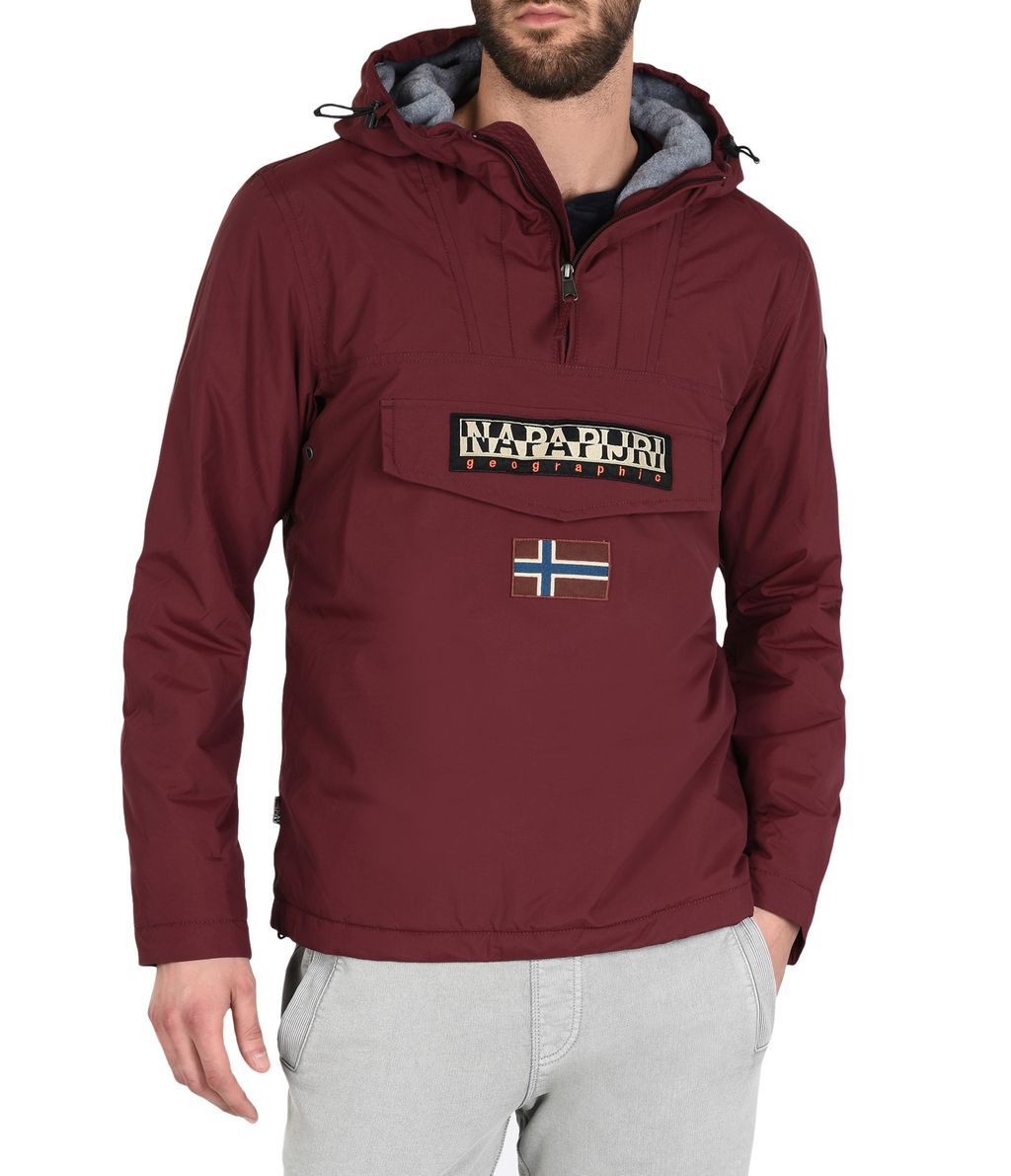NAPAPIJRI RAINFOREST WINTER MAN RAINFOREST,MAROON