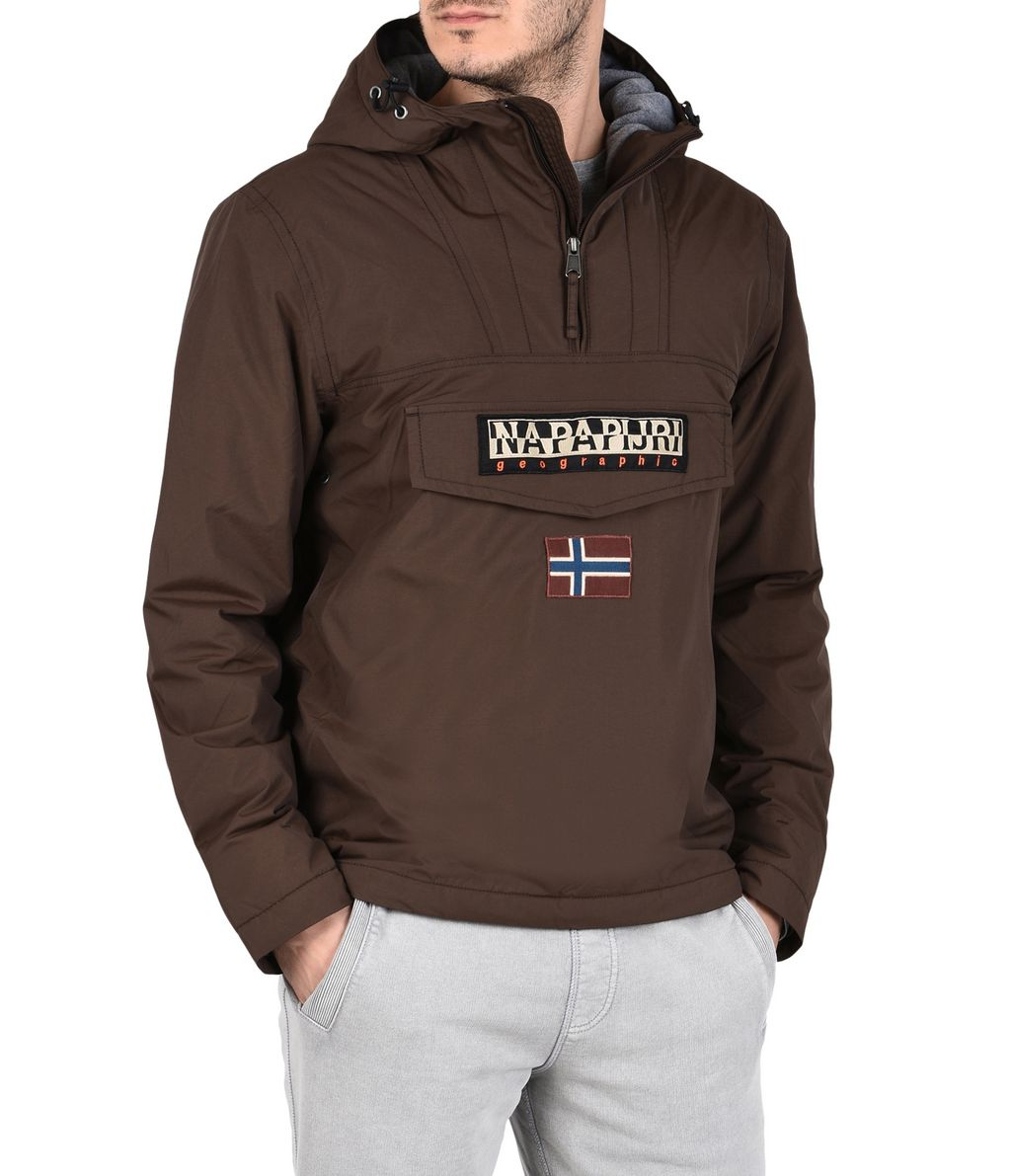 NAPAPIJRI RAINFOREST WINTER MAN RAINFOREST,DARK BROWN