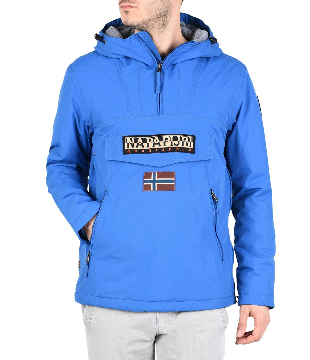 NAPAPIJRI RAINFOREST WINTER POCKETS MAN RAINFOREST,BLUE