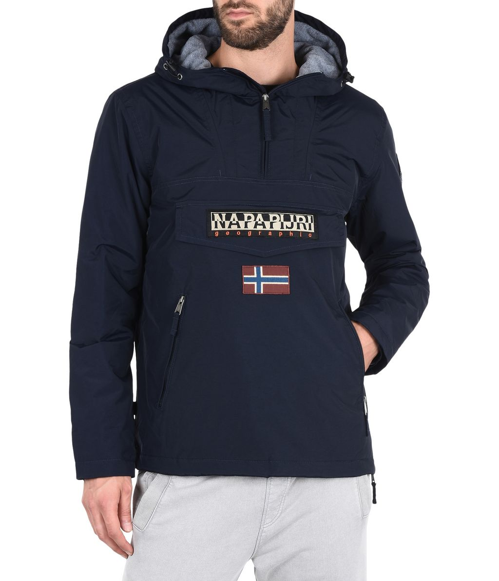 NAPAPIJRI RAINFOREST WINTER POCKETS MAN RAINFOREST,DARK BLUE