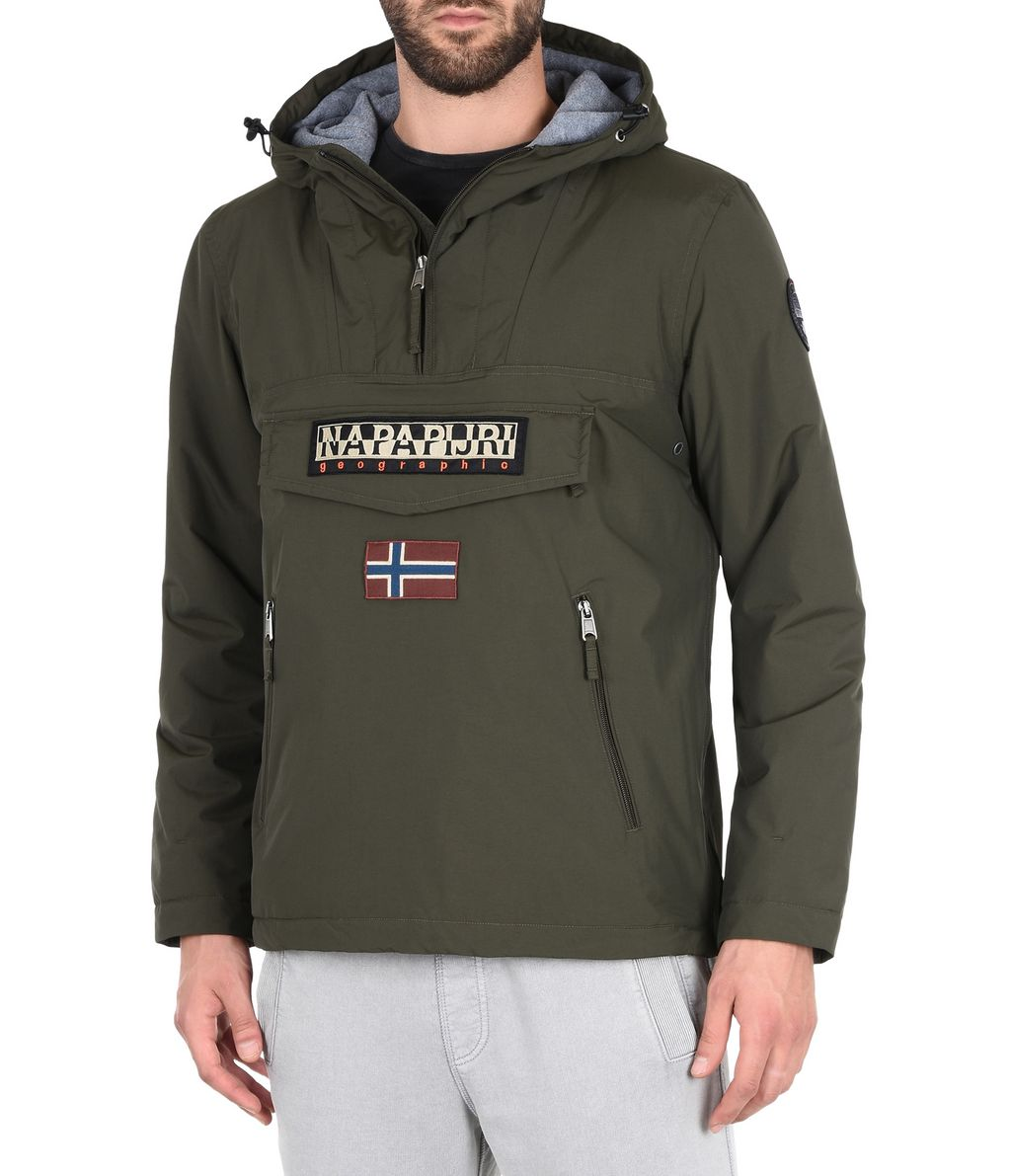 NAPAPIJRI RAINFOREST WINTER POCKETS MAN RAINFOREST,VERT MILITAIRE