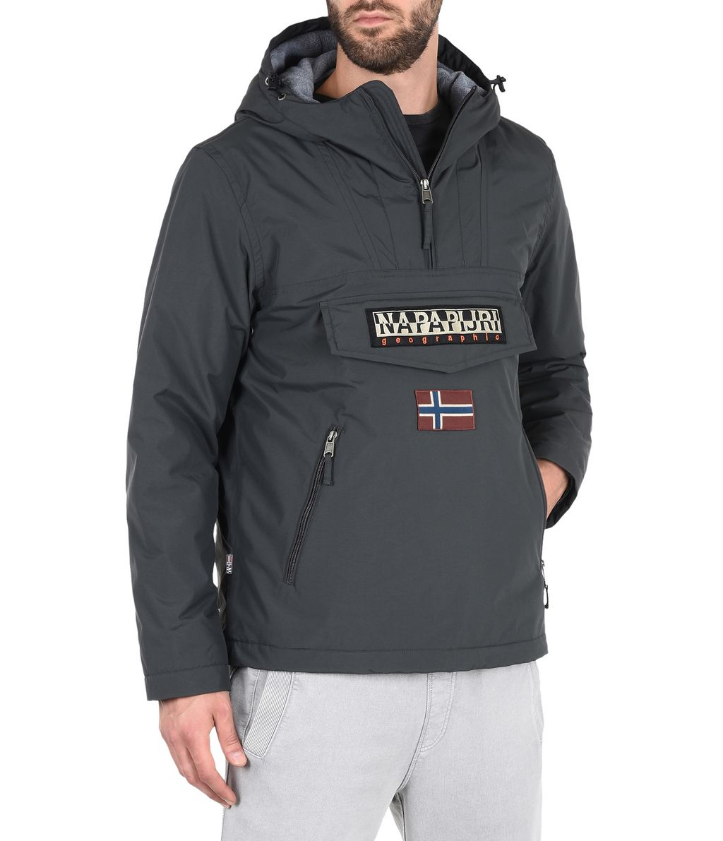 NAPAPIJRI RAINFOREST WINTER POCKETS MAN RAINFOREST,STEEL GREY