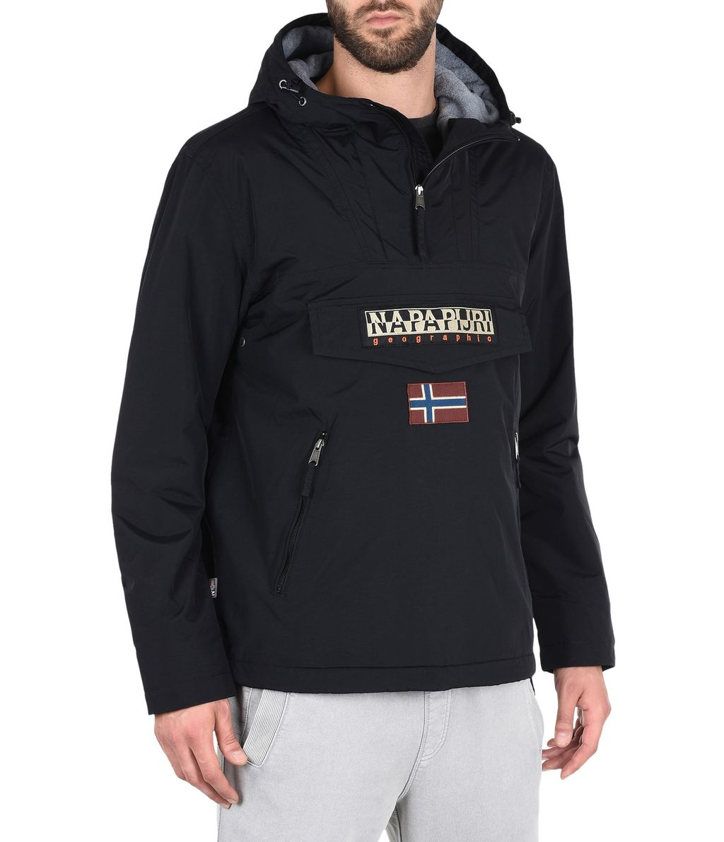 NAPAPIJRI RAINFOREST WINTER POCKETS MAN RAINFOREST,BLACK