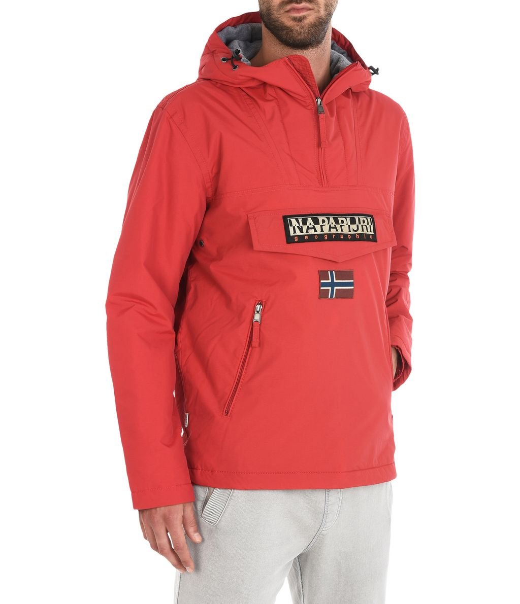 NAPAPIJRI RAINFOREST WINTER POCKETS MAN RAINFOREST,RED