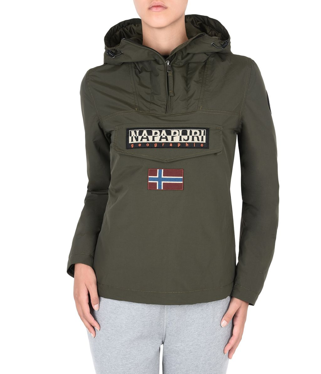 NAPAPIJRI RAINFOREST WINTER WOMAN RAINFOREST,VERT MILITAIRE