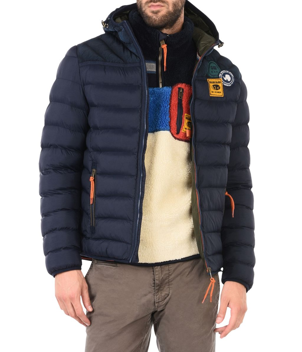 NAPAPIJRI ARTICAGE MAN PADDED JACKET,DARK BLUE