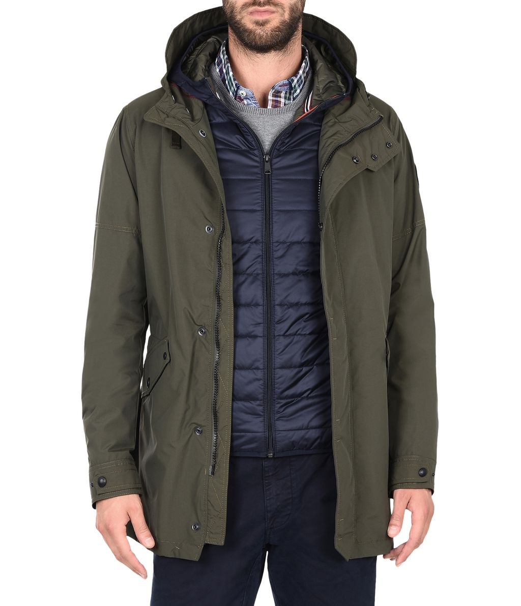 NAPAPIJRI ANNONAY 3IN1 MAN PARKA,MILITARY GREEN