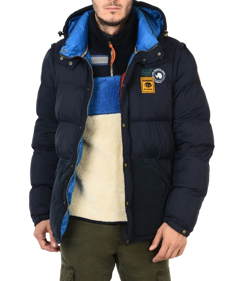NAPAPIJRI ARTIC 2IN1  MAN PADDED JACKET,DARK BLUE