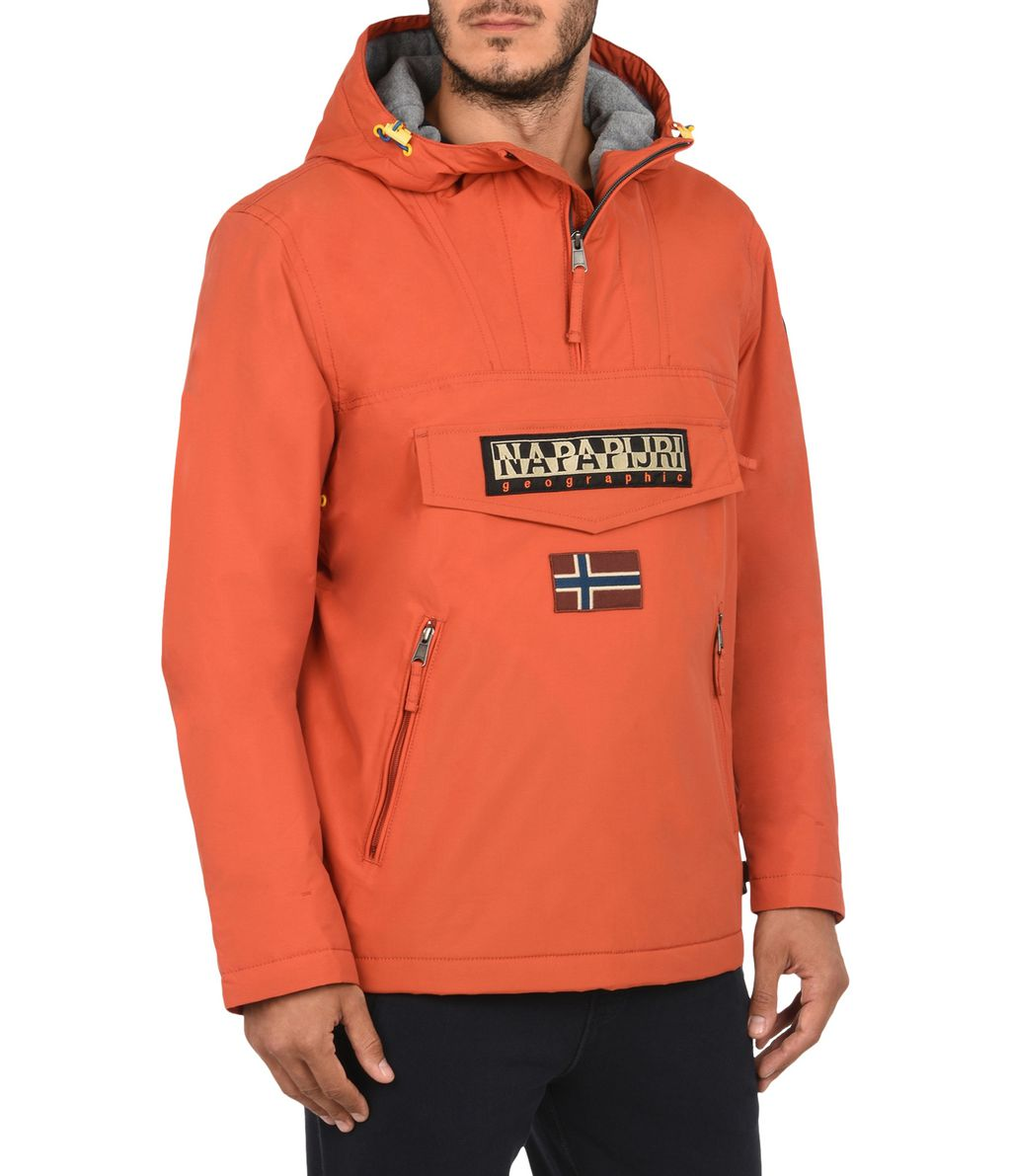 NAPAPIJRI RAINFOREST POCKETS SMARTY MAN RAINFOREST,ROUILLE