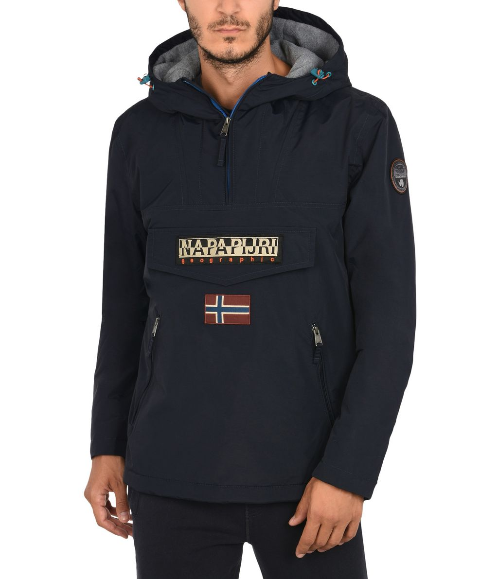 NAPAPIJRI RAINFOREST POCKETS SMARTY MAN RAINFOREST,BLEU FONCÉ