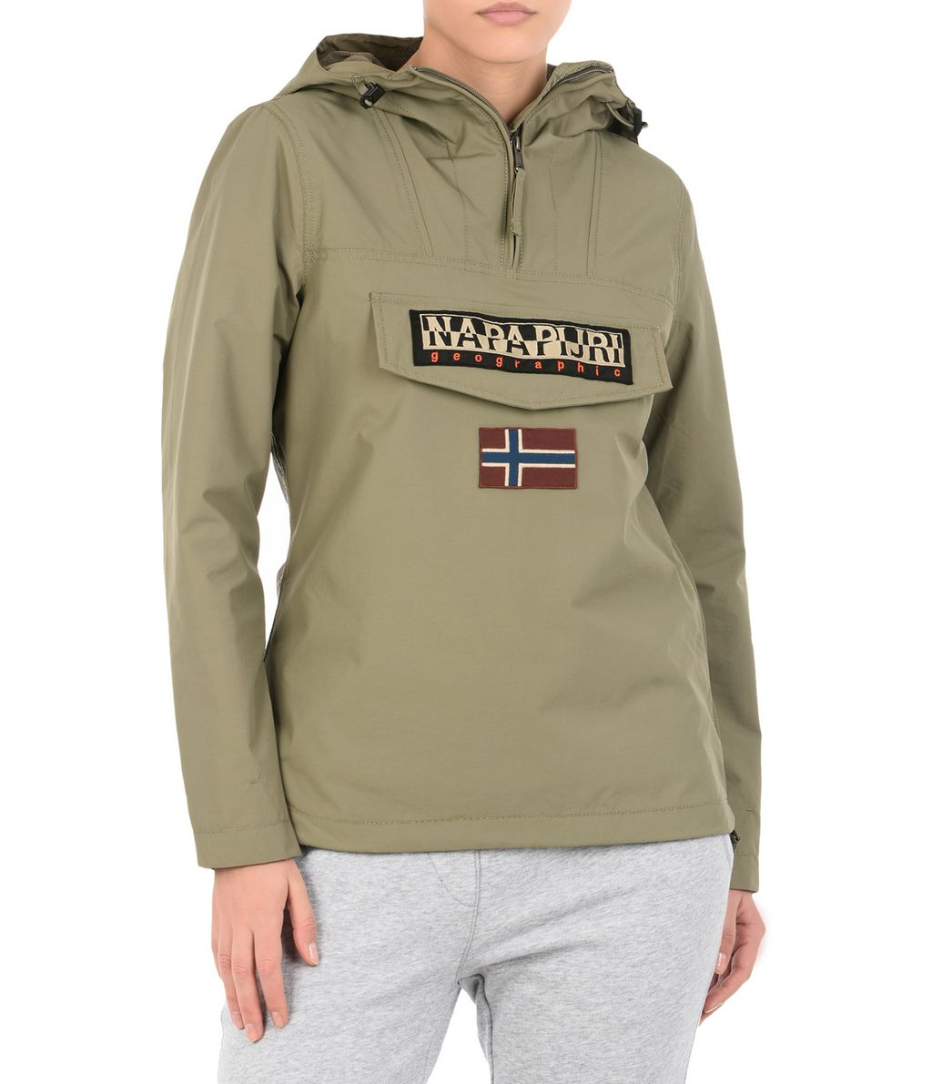 NAPAPIJRI RAINFOREST SUMMER WOMAN RAINFOREST,MILITARY GREEN
