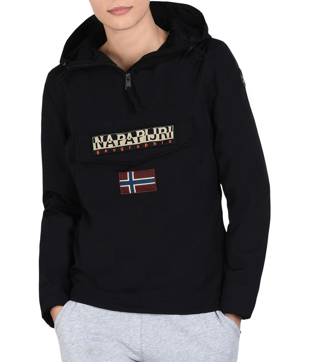 NAPAPIJRI RAINFOREST SUMMER WOMAN RAINFOREST,BLACK