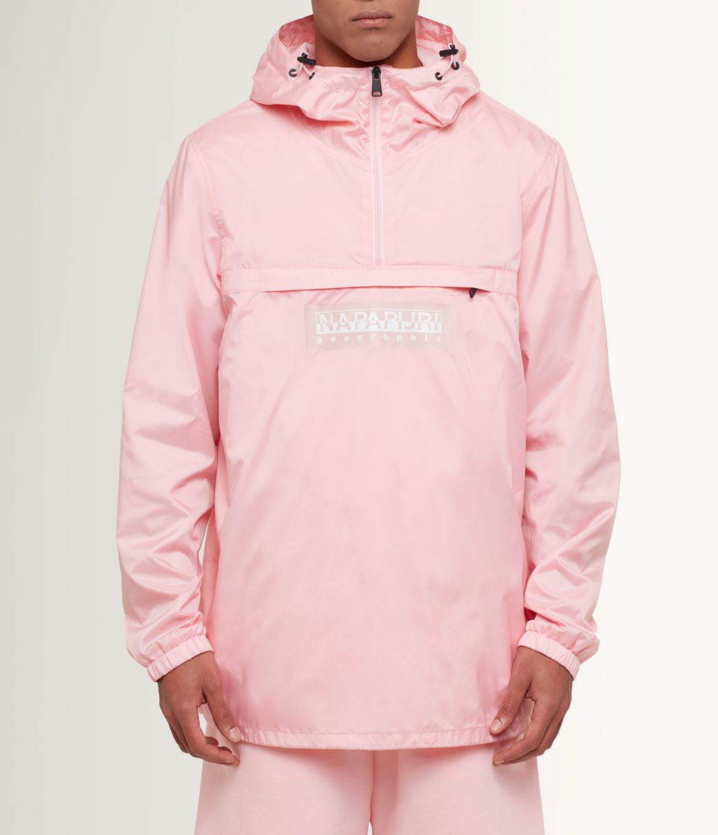 NAPAPIJRI AUMO MAN RAINFOREST,LIGHT PINK