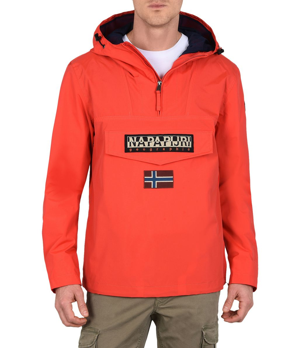 NAPAPIJRI RAINFOREST SUMMER MAN RAINFOREST,RED