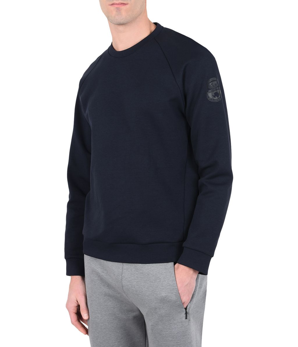 NAPAPIJRI BOK MAN SWEATSHIRT,DARK BLUE