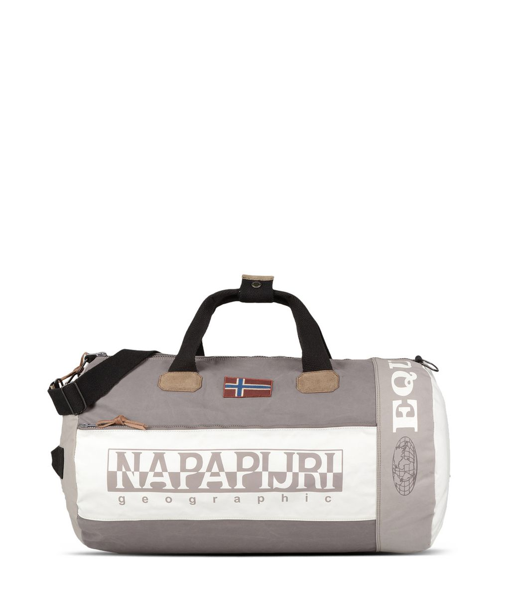 NAPAPIJRI SAROV  TRAVEL BAG,LIGHT GREY