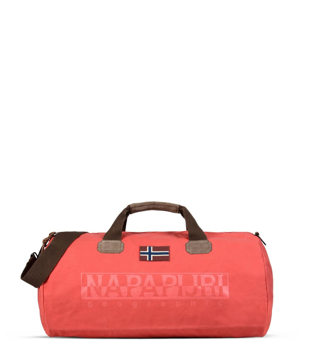 NAPAPIJRI BERING   TRAVEL BAG,DARK CORAL