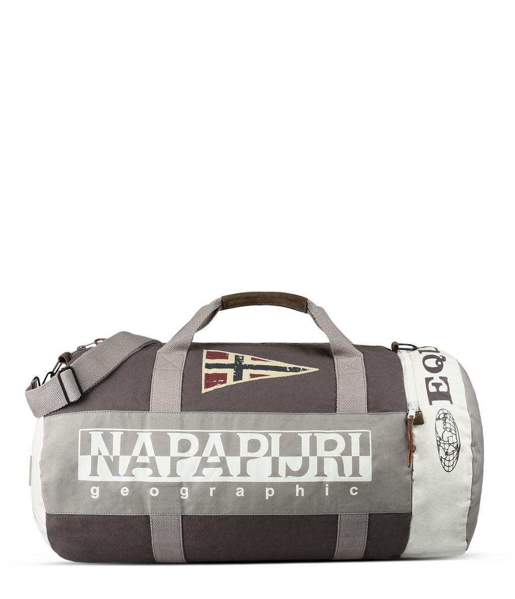 NAPAPIJRI EQUATOR   TRAVEL BAG,LIGHT GREY
