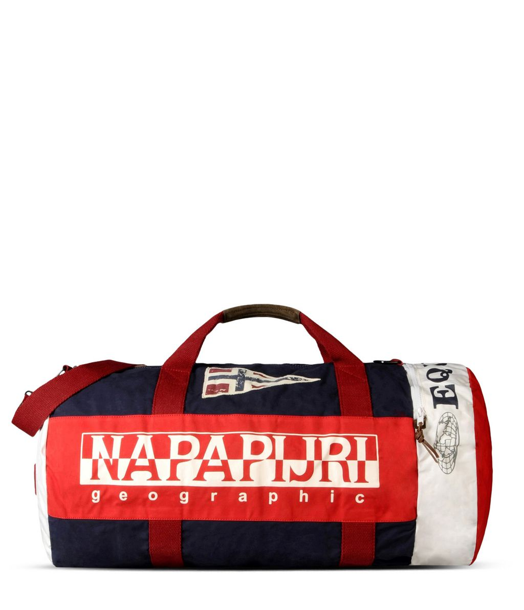 NAPAPIJRI EQUATOR   TRAVEL BAG,RED PEPPER