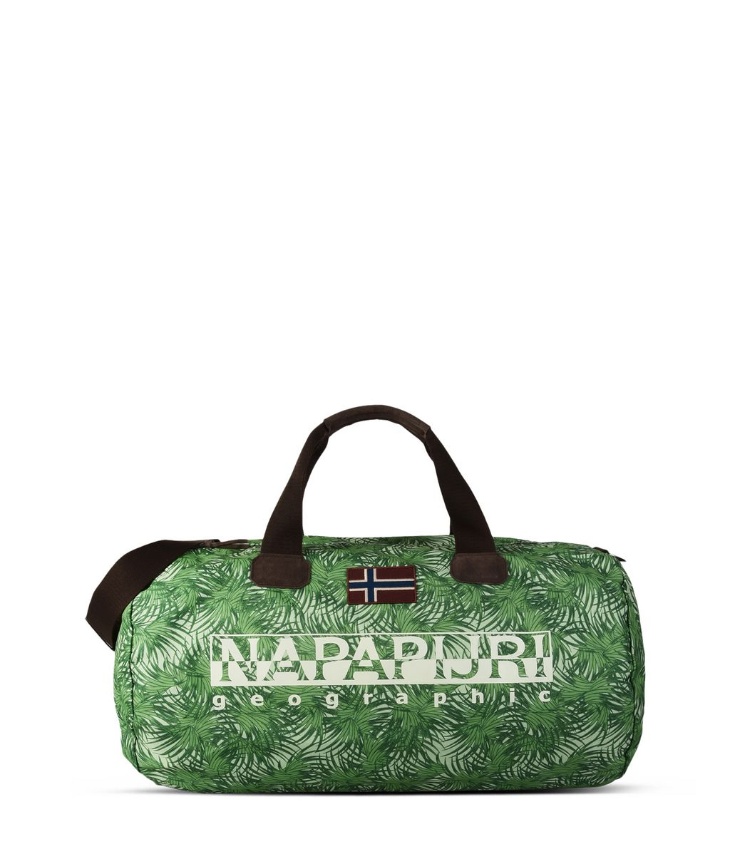 NAPAPIJRI BERING PRINT EXCLUSIVE  TRAVEL BAG,GREEN