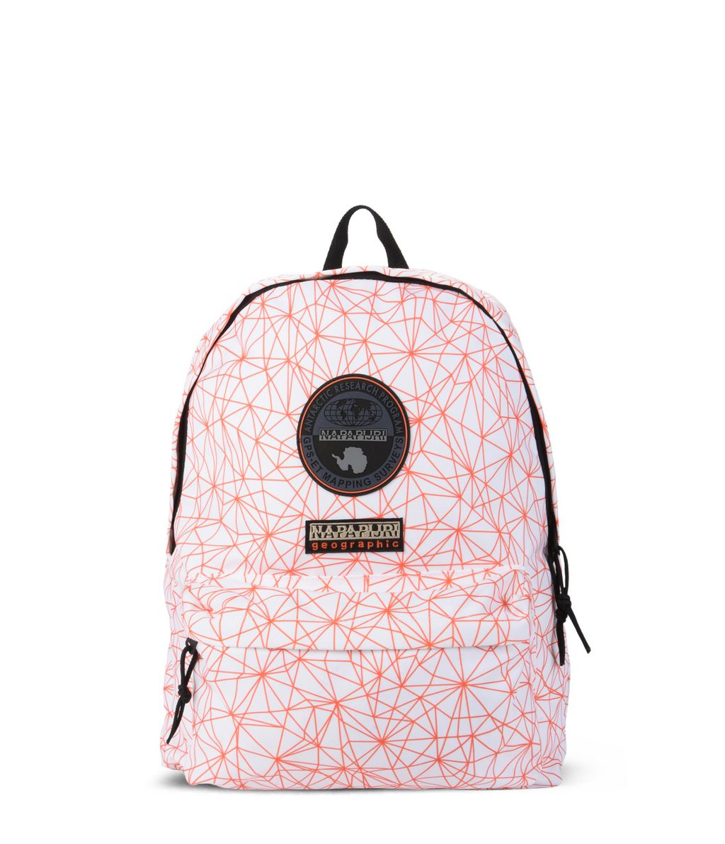 NAPAPIJRI VOYAGE PRINTED  RUCKSACK,ORANGE