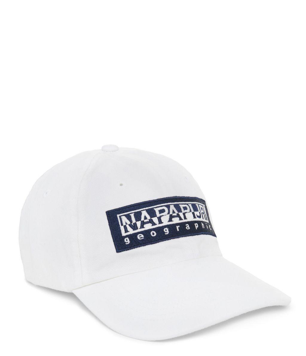 NAPAPIJRI FLON  HAT,BRIGHT WHITE