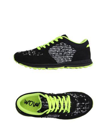 62%OFF <YOOX> SAM EDELMAN レディース スニーカー&テニスシューズ(ローカット) ブラック 6 紡績繊維画像