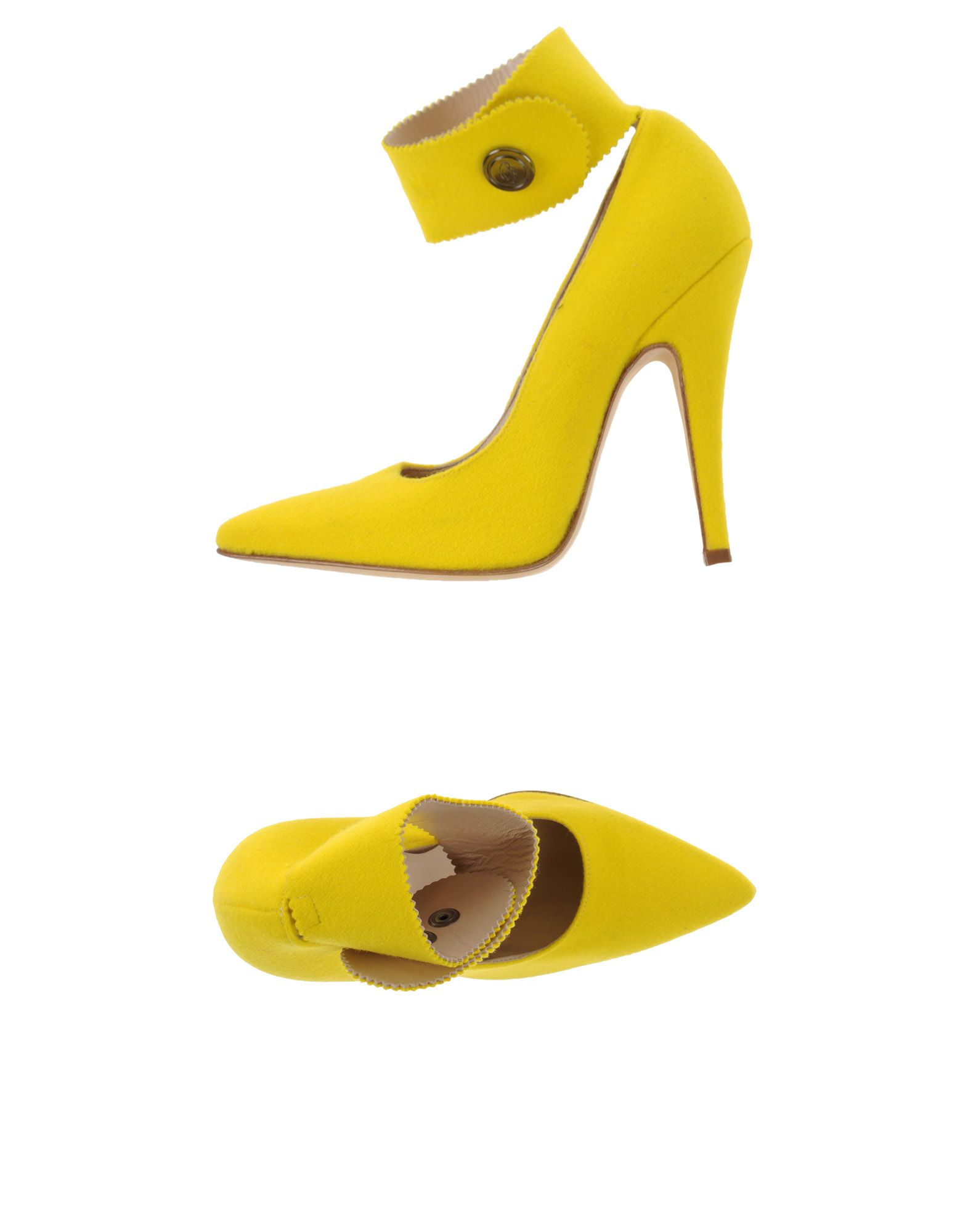 BLUMARINE Damen Pumps Farbe Gelb Größe 13