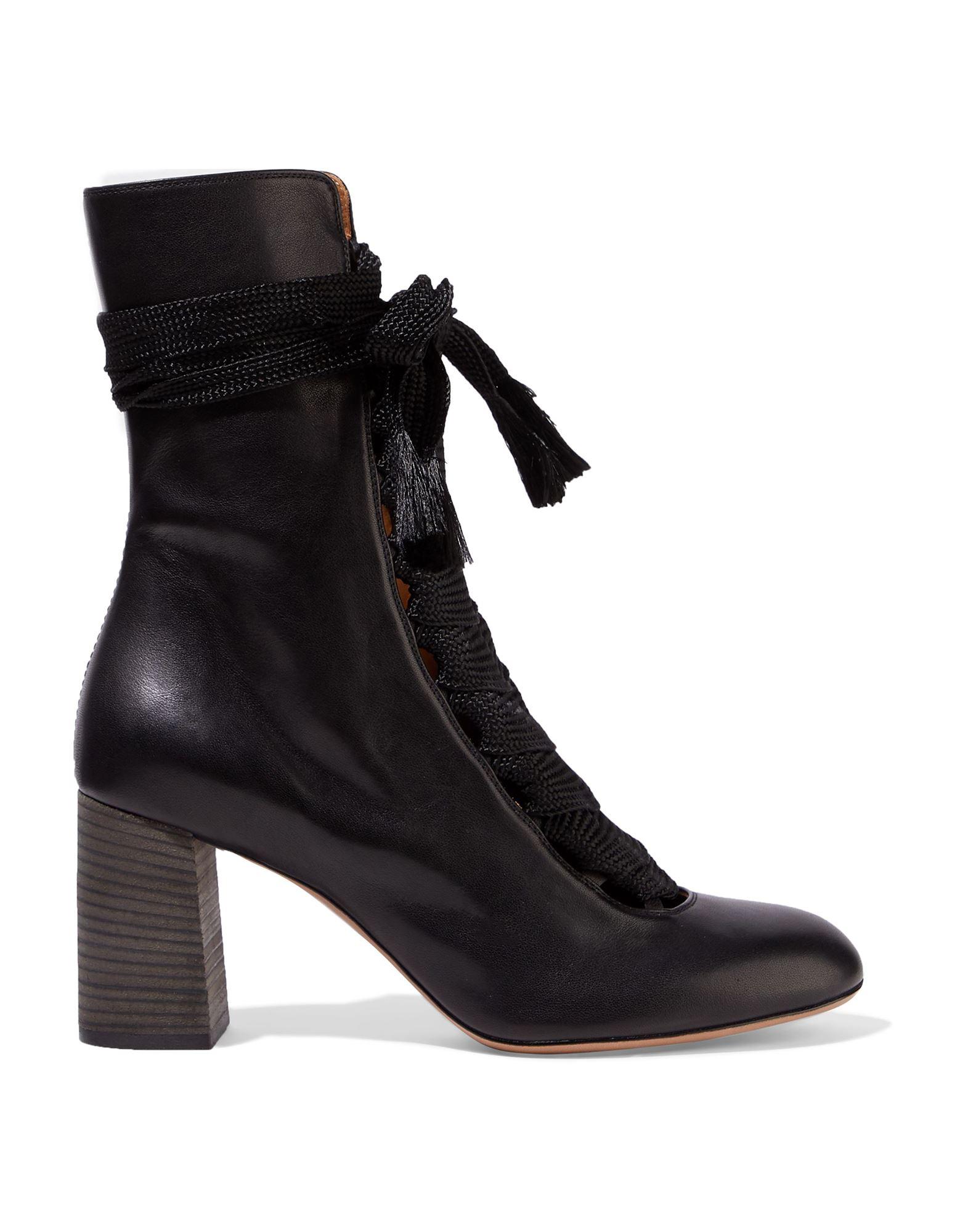 CHLOÉ Полусапоги и высокие ботинки ambitious полусапоги и высокие ботинки