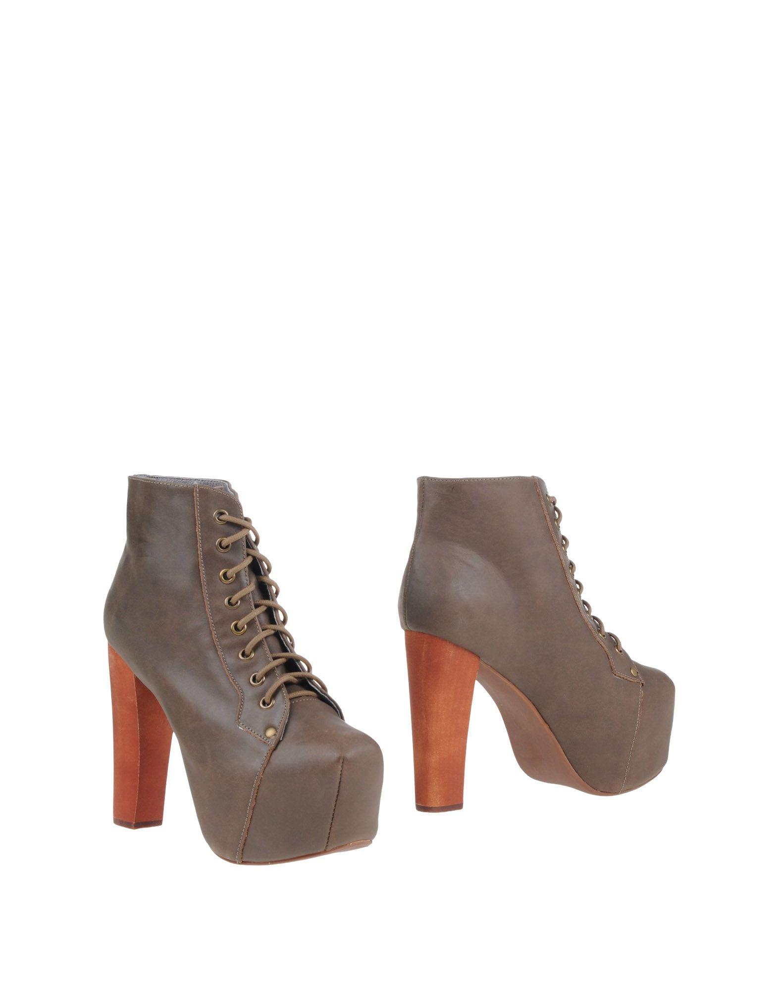 Фото JEFFREY CAMPBELL Полусапоги и высокие ботинки. Купить с доставкой
