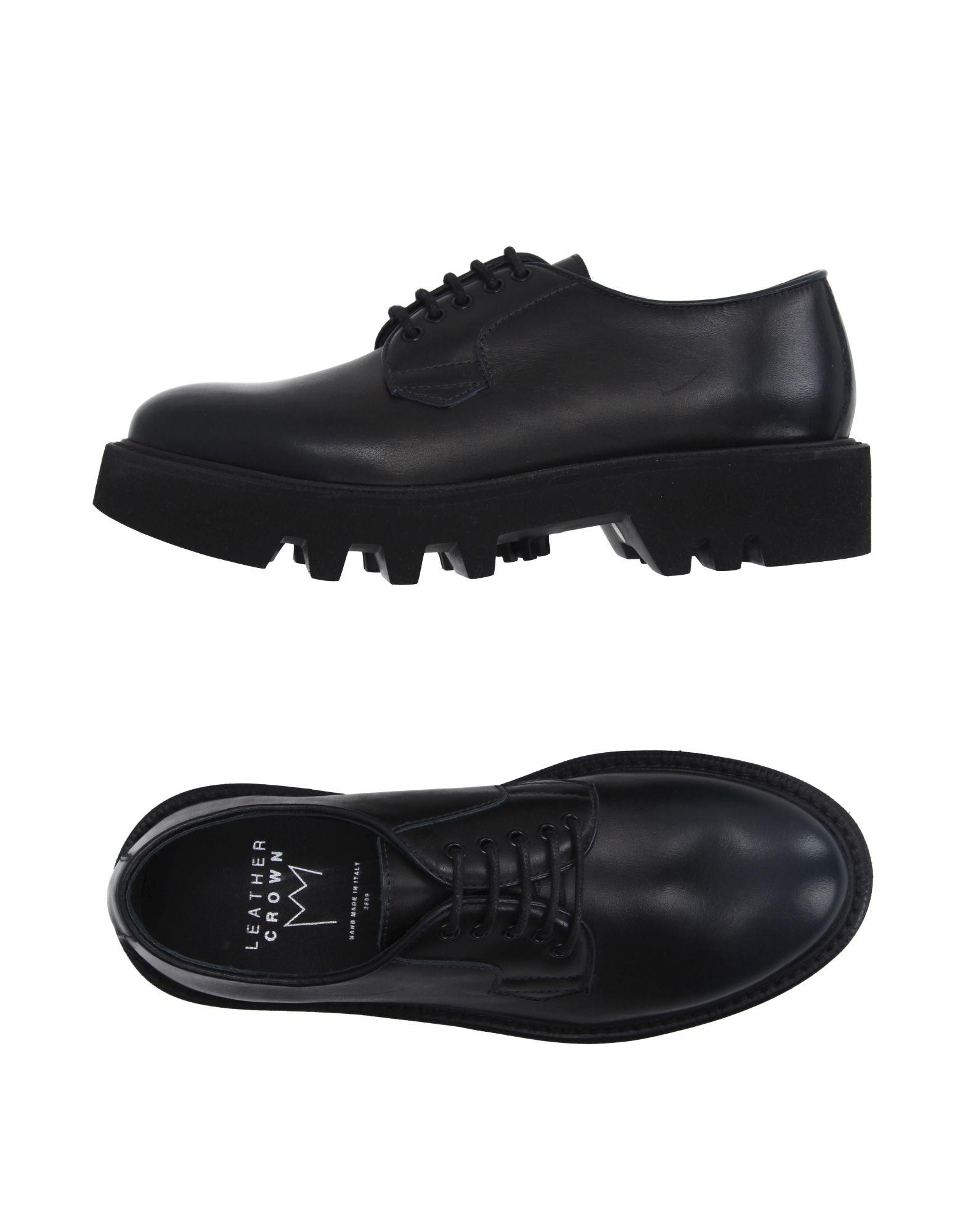 Фото - LEATHER CROWN Обувь на шнурках обувь на высокой платформе dkny
