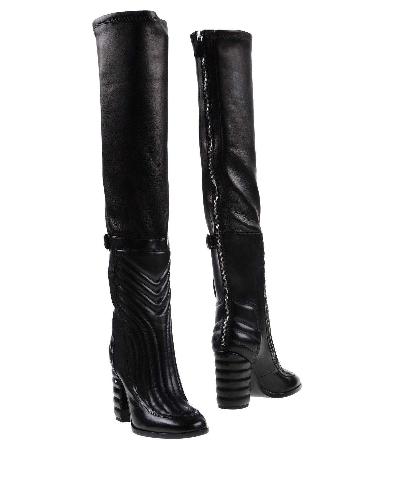 《送料無料》LAURENCE DACADE レディース ブーツ ブラック 37.5 牛革(カーフ)