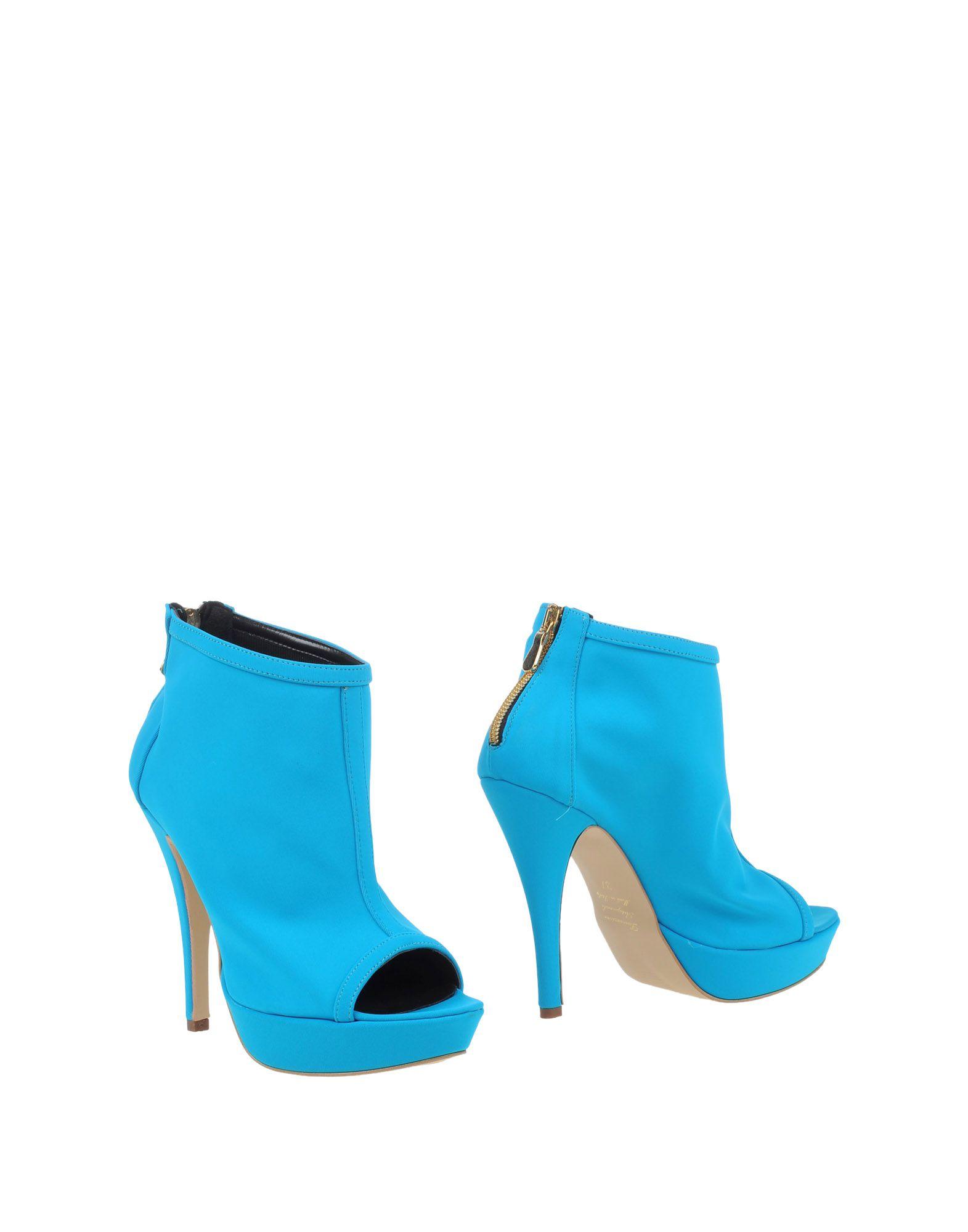《送料無料》LA FILLE des FLEURS レディース ショートブーツ ターコイズブルー 41 紡績繊維