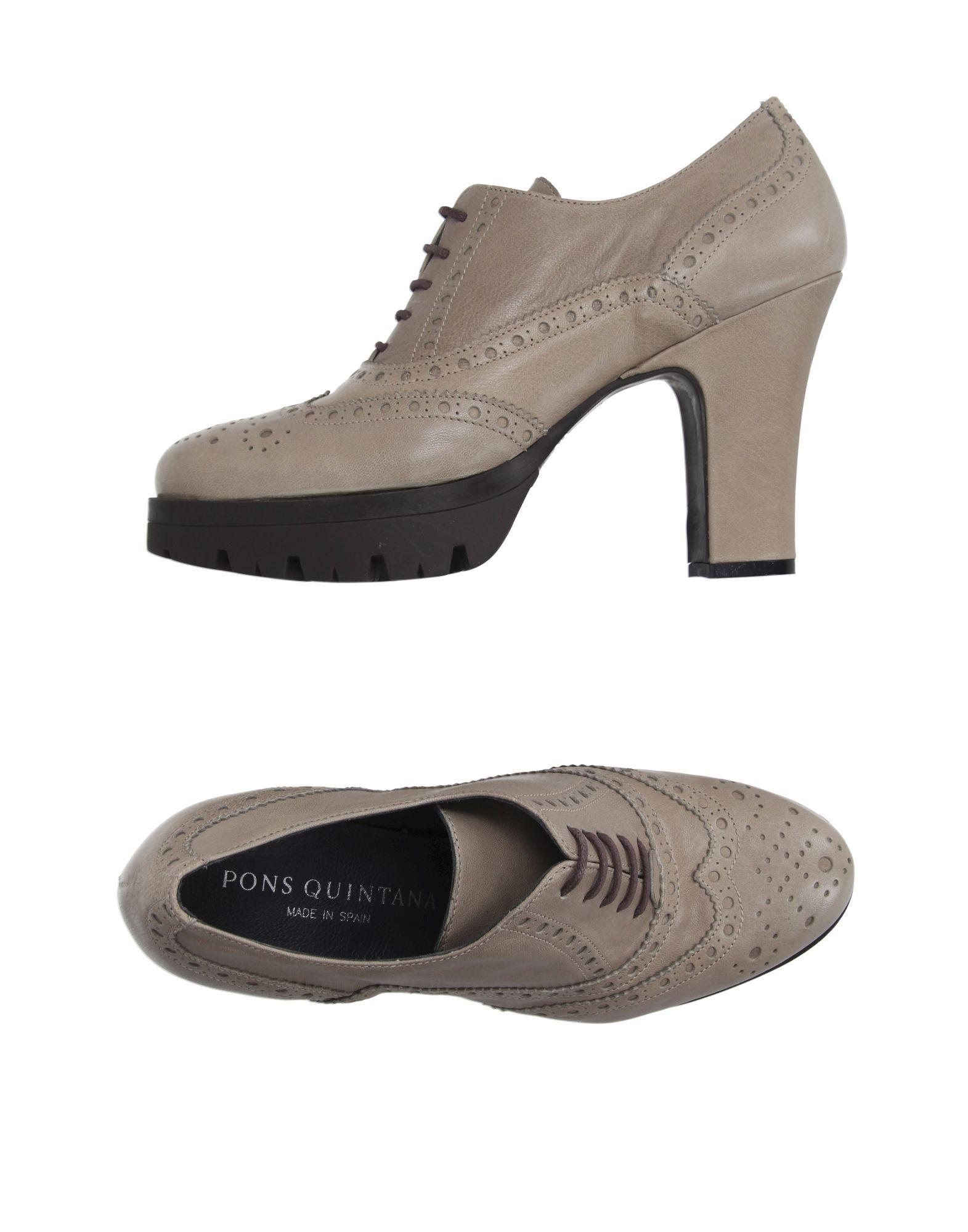 PONS QUINTANA Обувь на шнурках