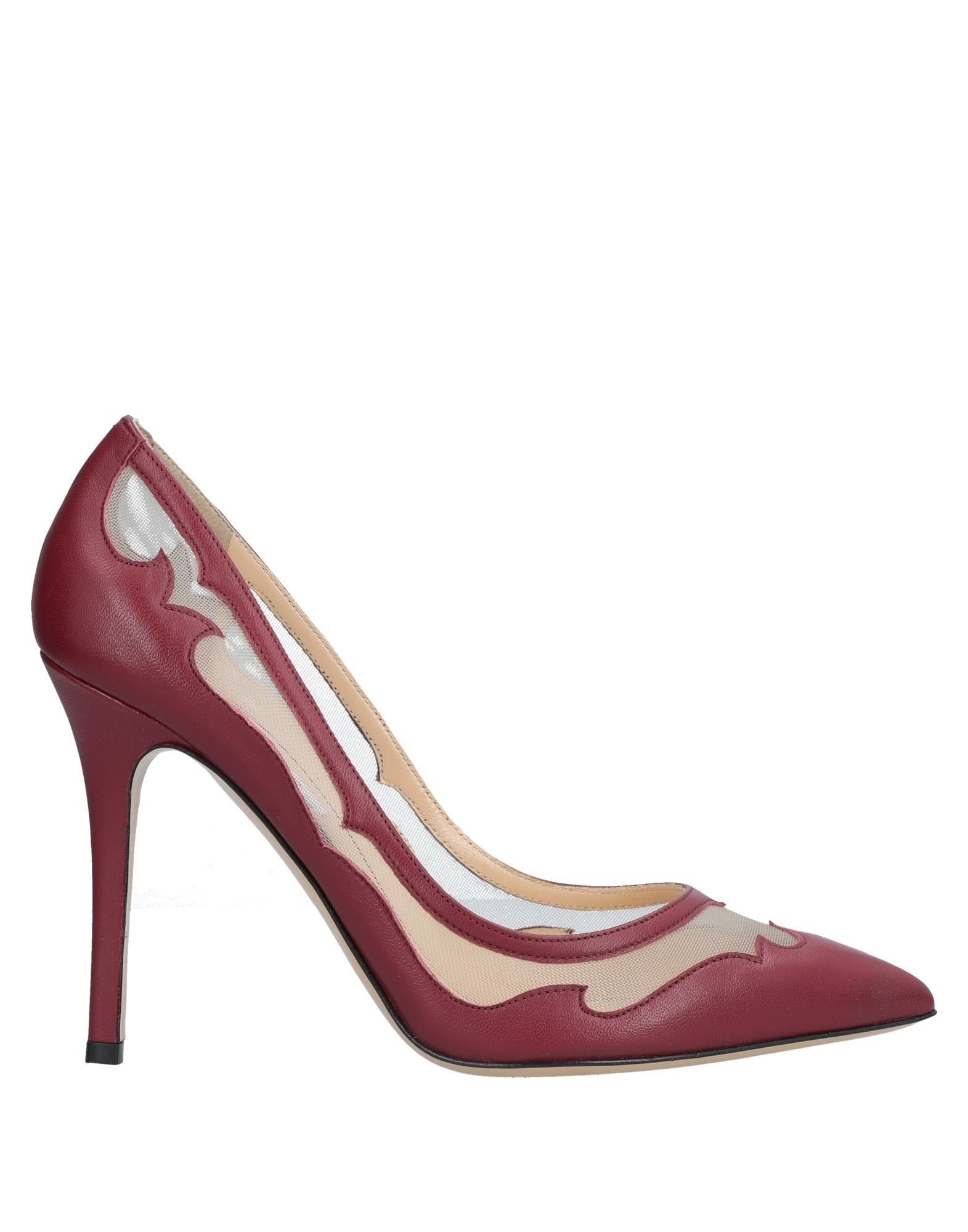 SEMILLA Pump in Maroon