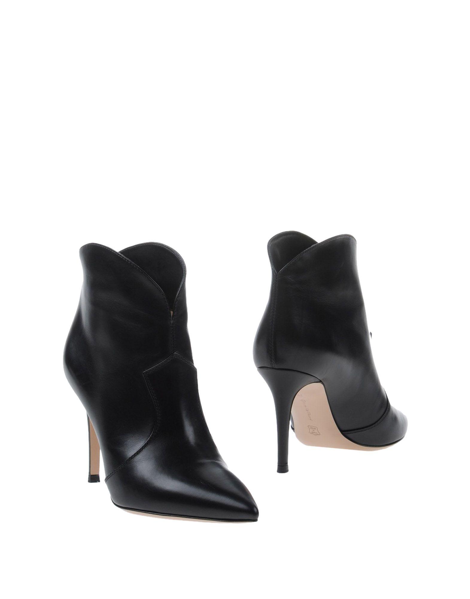 GIANVITO ROSSI Полусапоги и высокие ботинки