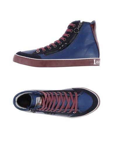 Фото - Высокие кеды и кроссовки синего цвета