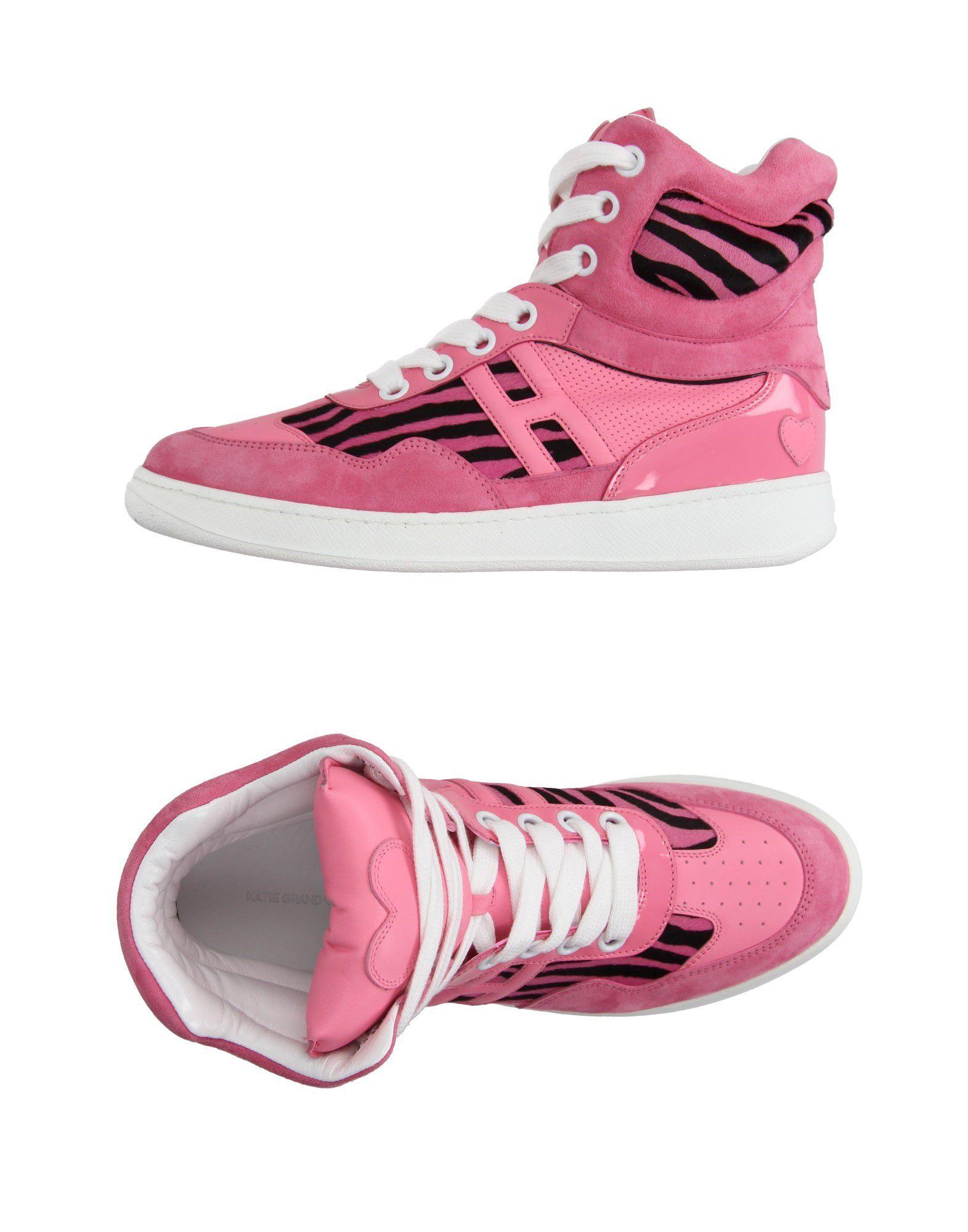 KATIE GRAND LOVES HOGAN Высокие кеды и кроссовки цены онлайн