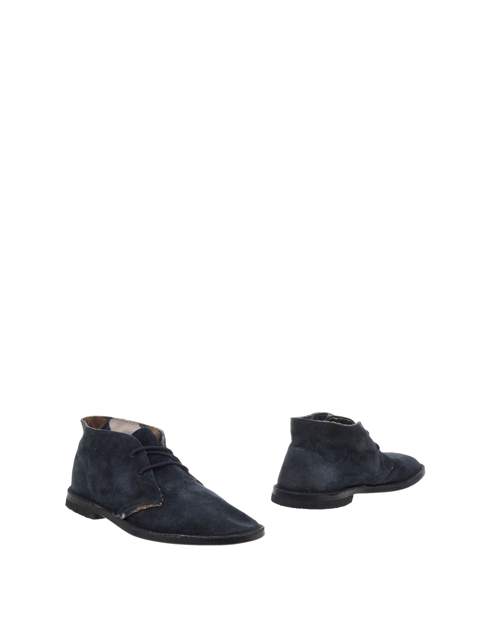 LE CROWN Boots in Dark Blue