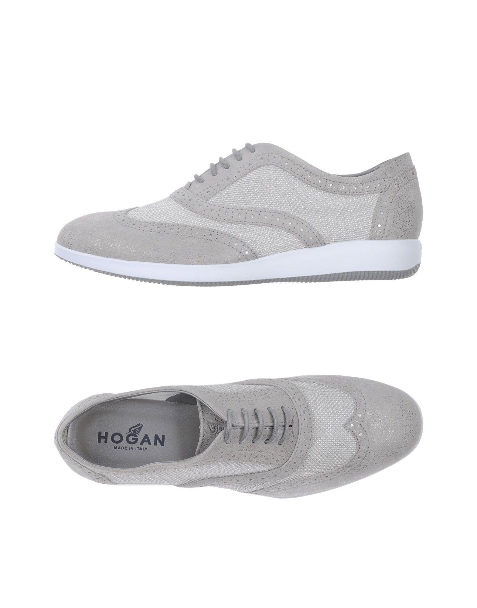 купить HOGAN Низкие кеды и кроссовки дешево