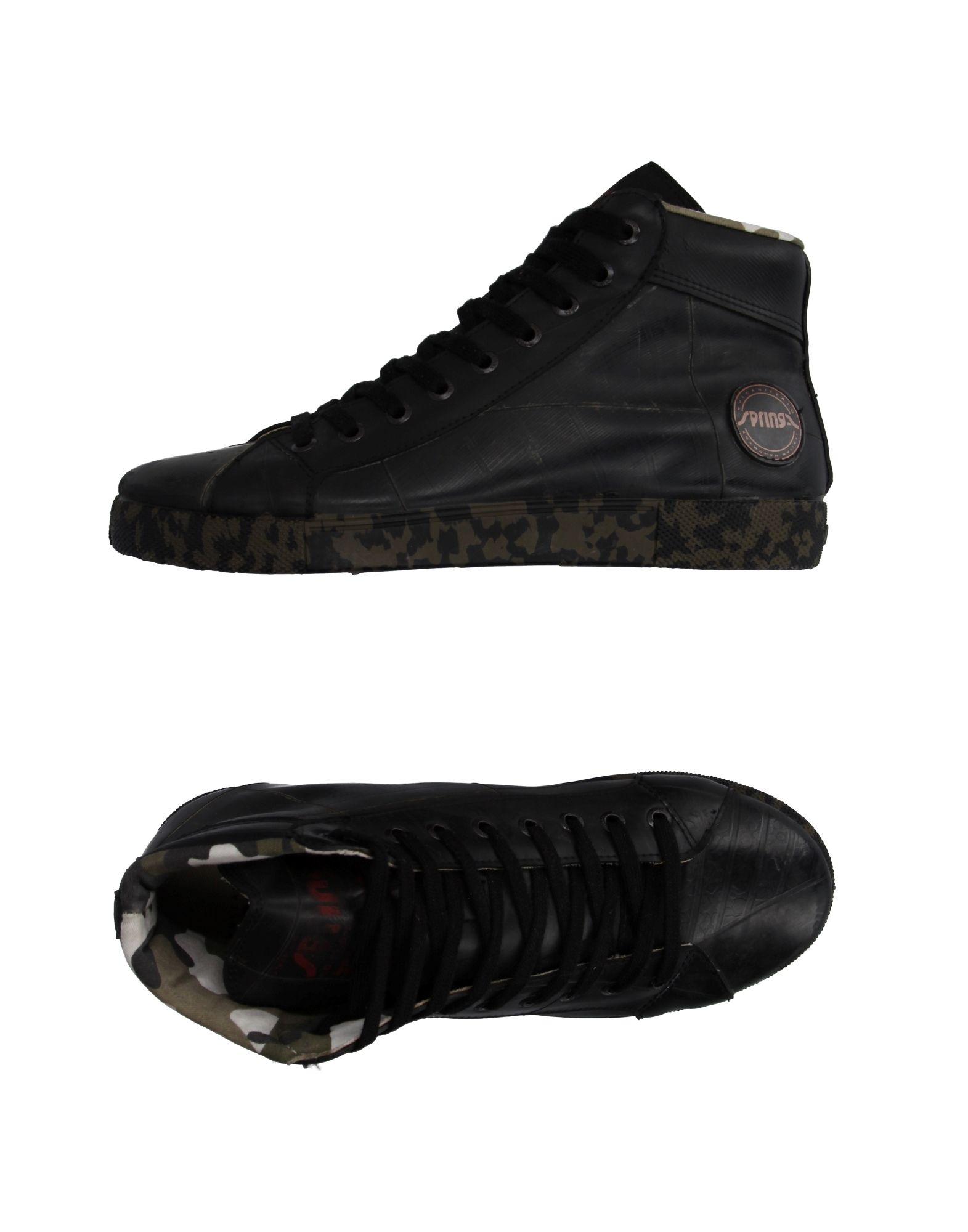 SPRINGA Высокие кеды и кроссовки кеды кроссовки высокие dc council mid tx stone camo