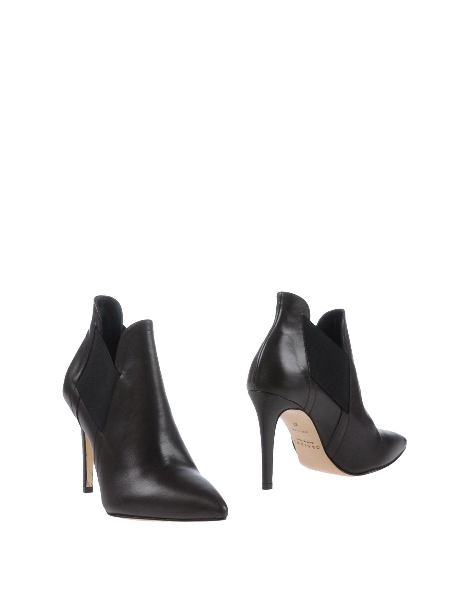 ORCIANI Полусапоги и высокие ботинки цены онлайн