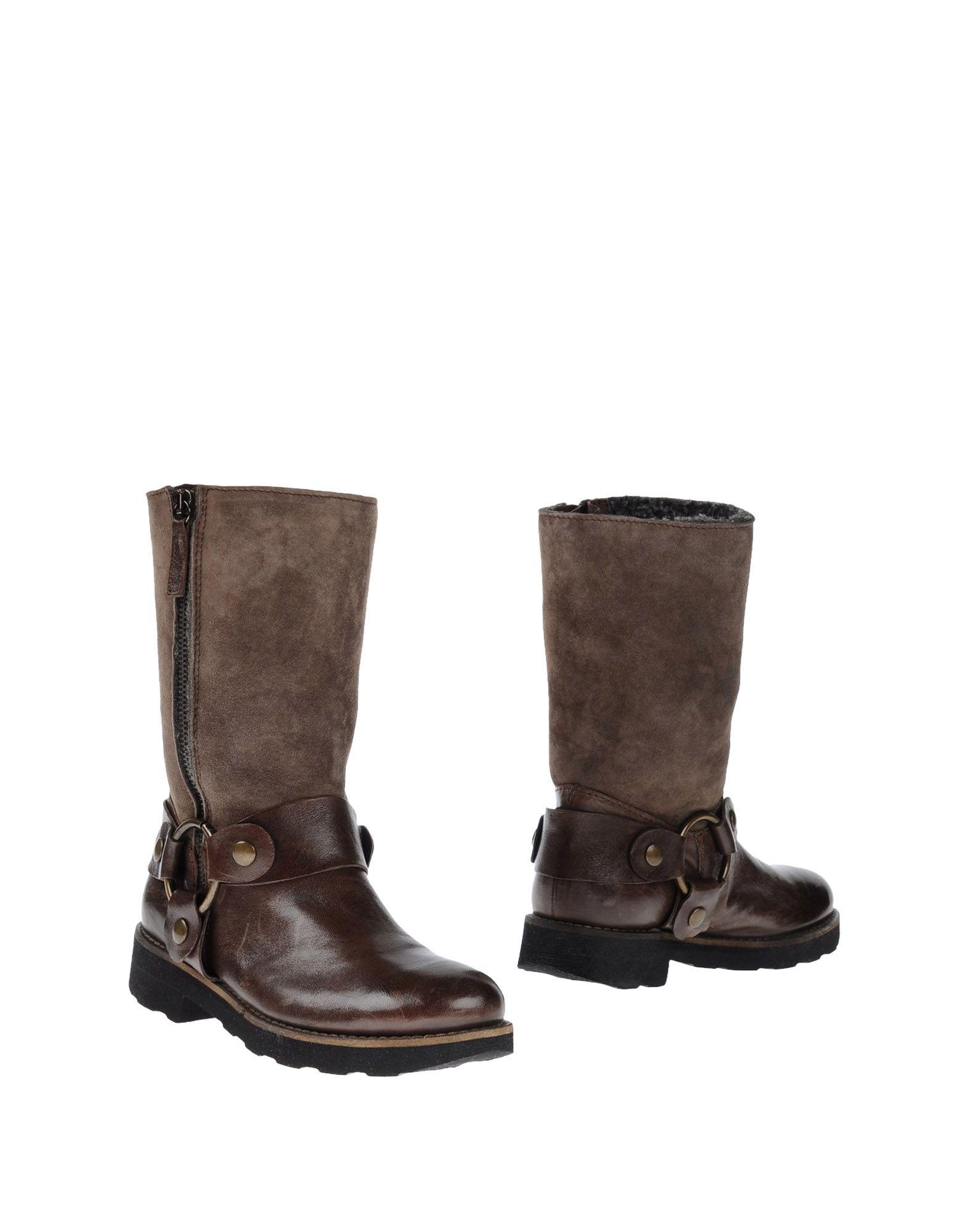 PROGETTO GLAM Полусапоги и высокие ботинки цены онлайн