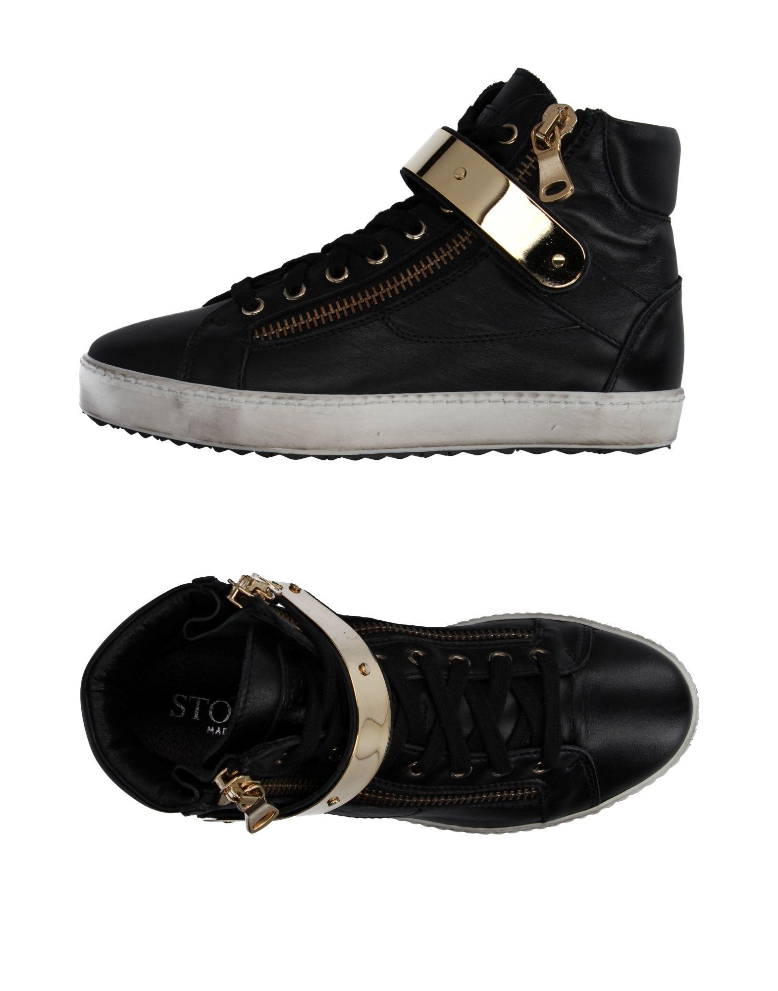 STOKTON Высокие кеды и кроссовки