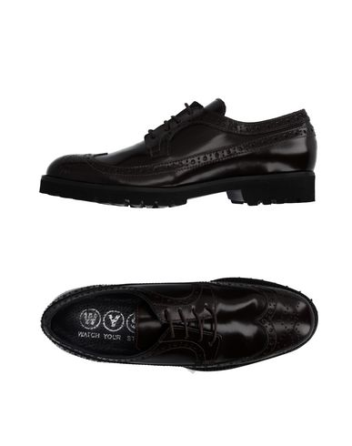 Обувь на шнурках WYS WATCH YOUR STEP 11040883IN
