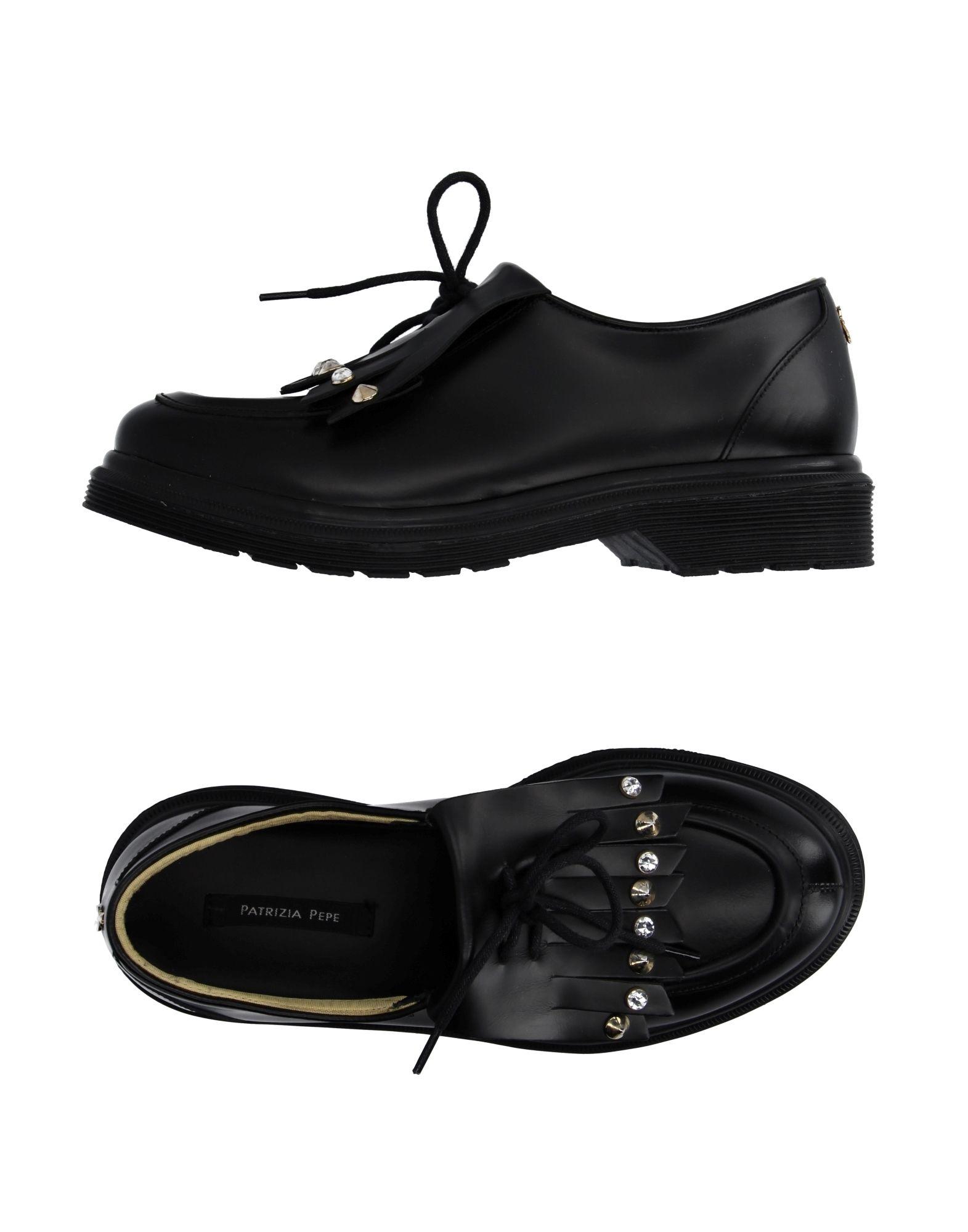 PATRIZIA PEPE Обувь на шнурках patrizia pepe джинсы с 5 карманами с широкими штанинами